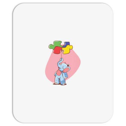 Elephant Balloon Puzzle Mousepad Designed By Dirjaart