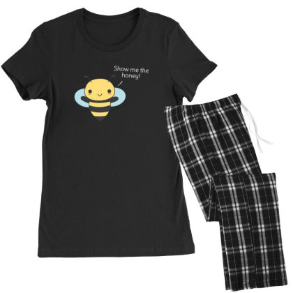 Bee Pun Is Funny Women's Pajamas Set Designed By H3lm1
