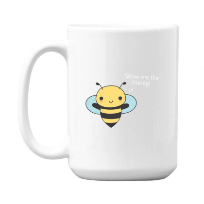 Bee Pun Is Funny 15 Oz Coffe Mug Designed By H3lm1
