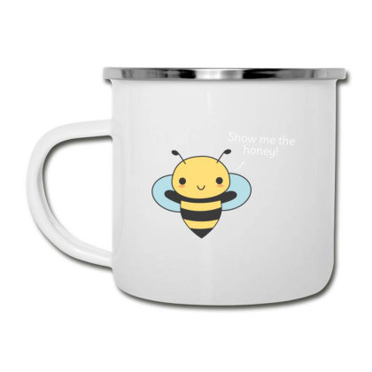 Bee Pun Is Funny Camper Cup Designed By H3lm1
