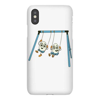 Eggs On Swing Iphonex Case Designed By Dirjaart