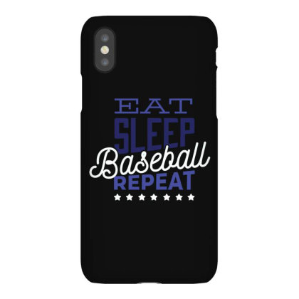 Eat, Sleep, Baseball, Repeat Iphonex Case Designed By Dirjaart