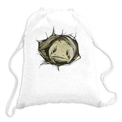 Eel Hole Drawstring Bags Designed By Dirjaart