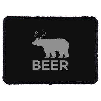 Beer  Animal Rectangle Patch Designed By H3lm1