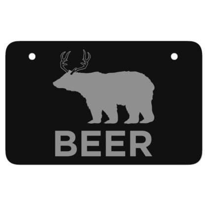 Beer  Animal Atv License Plate Designed By H3lm1