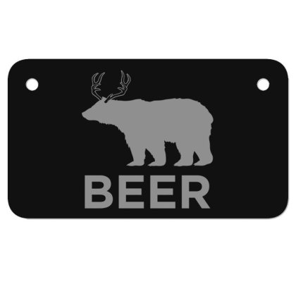 Beer  Animal Motorcycle License Plate Designed By H3lm1