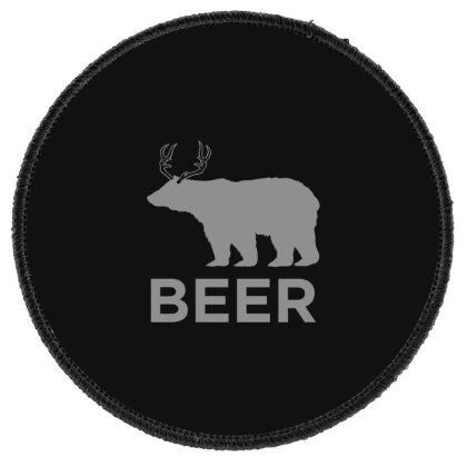 Beer  Animal Round Patch Designed By H3lm1
