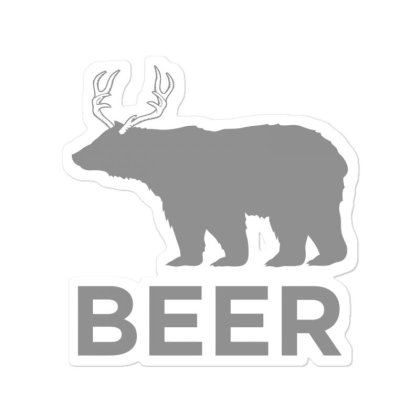 Beer  Animal Sticker Designed By H3lm1