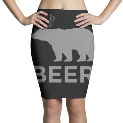 Beer  Animal Pencil Skirts Designed By H3lm1