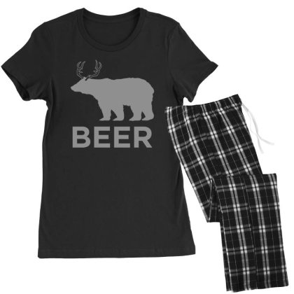 Beer  Animal Women's Pajamas Set Designed By H3lm1