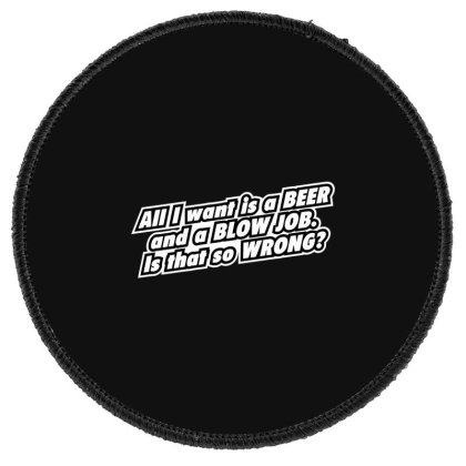 Beer  Bj Round Patch Designed By H3lm1
