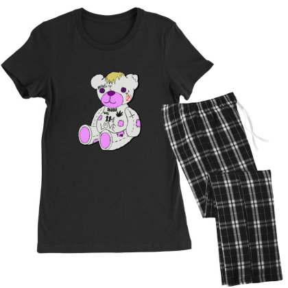 Lil Peep Bear Women's Pajamas Set Designed By Asatya