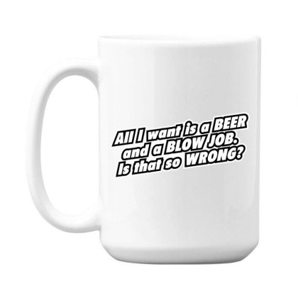 Beer  Bj 15 Oz Coffe Mug Designed By H3lm1