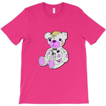 Lil Peep Bear T-shirt Designed By Asatya