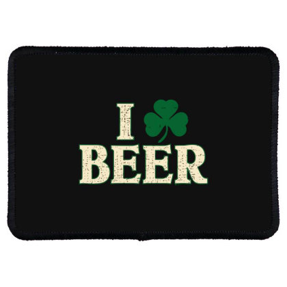 Beer  Clover Rectangle Patch Designed By H3lm1