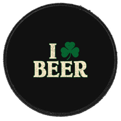 Beer  Clover Round Patch Designed By H3lm1