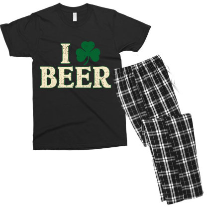 Beer  Clover Men's T-shirt Pajama Set Designed By H3lm1