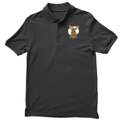 Elk Video Games Men's Polo Shirt Designed By Dirjaart