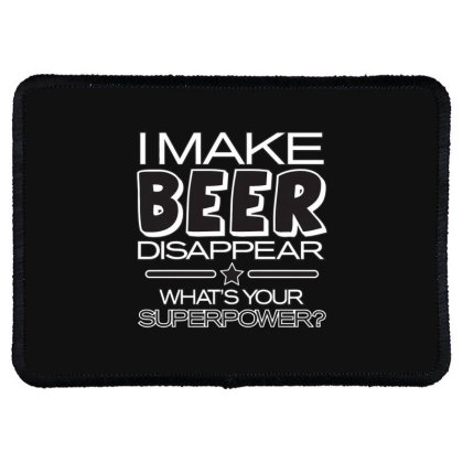 Beer  Disappear Rectangle Patch Designed By H3lm1