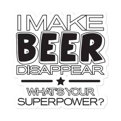 Beer  Disappear Sticker Designed By H3lm1
