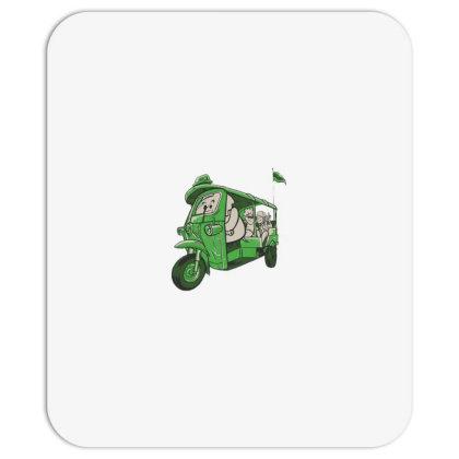 Elephant Taxi Mousepad Designed By Dirjaart