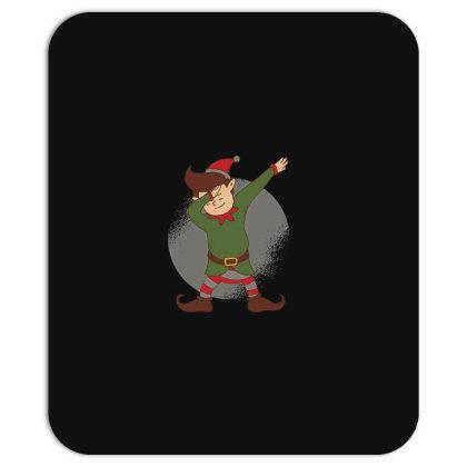 Elf Dabbing Christmas Mousepad Designed By Dirjaart