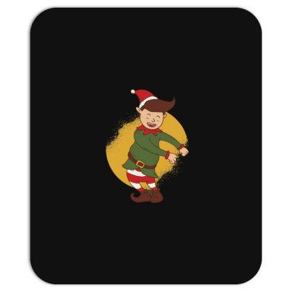 Elf Floss Dance Christmas Mousepad Designed By Dirjaart