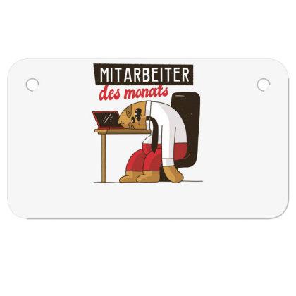 Employee Of The Month Motorcycle License Plate Designed By Dirjaart
