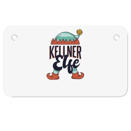Elf Waiter Motorcycle License Plate Designed By Dirjaart