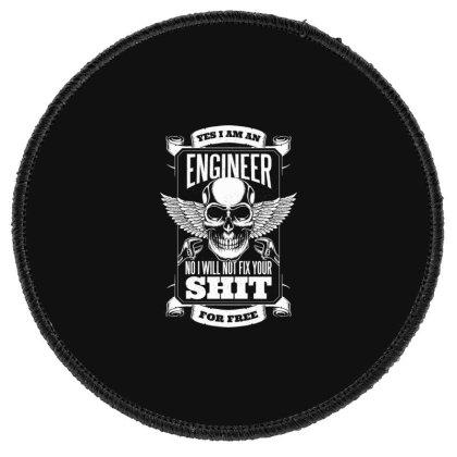 Engineer Round Patch Designed By Dirjaart
