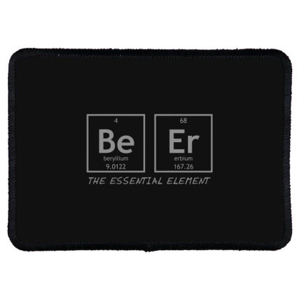 Beer  Element Rectangle Patch Designed By H3lm1