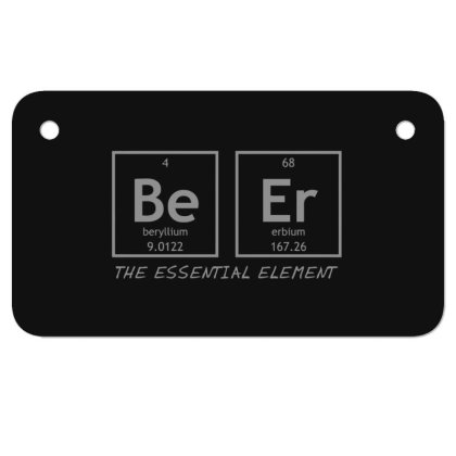 Beer  Element Motorcycle License Plate Designed By H3lm1