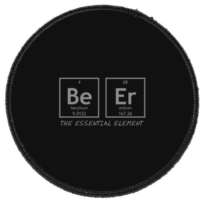 Beer  Element Round Patch Designed By H3lm1