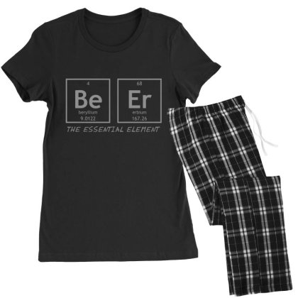 Beer  Element Women's Pajamas Set Designed By H3lm1