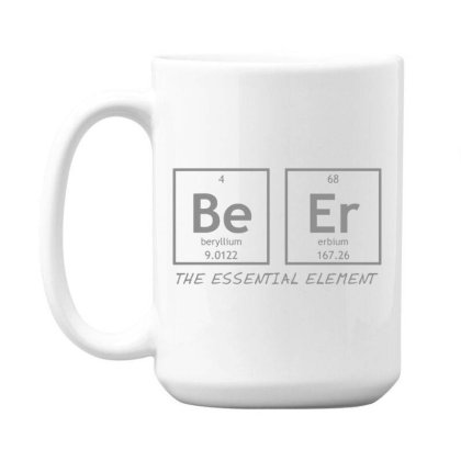 Beer  Element 15 Oz Coffe Mug Designed By H3lm1