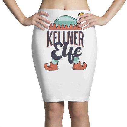 Elf Waiter Pencil Skirts Designed By Dirjaart