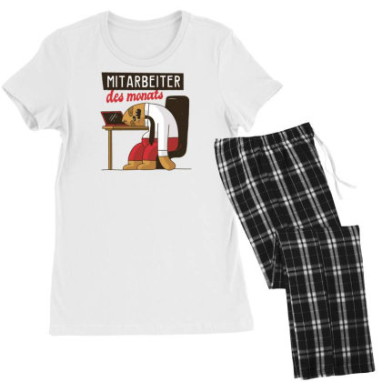 Employee Of The Month Women's Pajamas Set Designed By Dirjaart