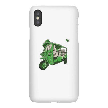 Elephant Taxi Iphonex Case Designed By Dirjaart