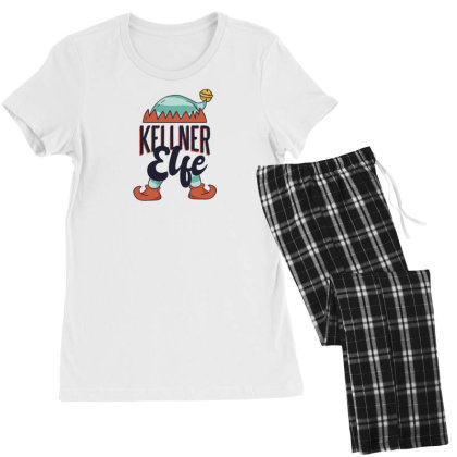 Elf Waiter Women's Pajamas Set Designed By Dirjaart