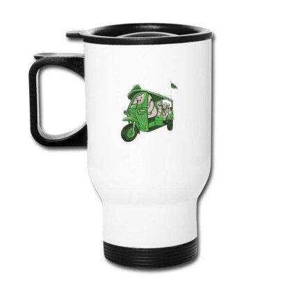 Elephant Taxi Travel Mug Designed By Dirjaart