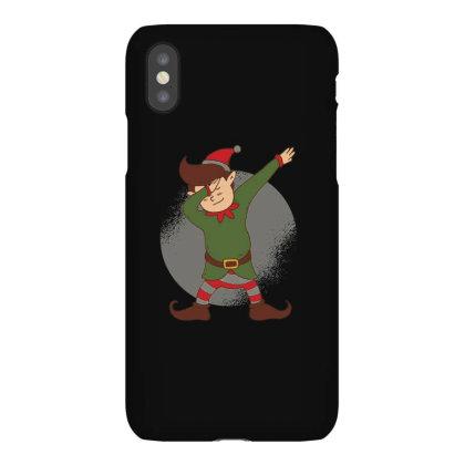 Elf Dabbing Christmas Iphonex Case Designed By Dirjaart