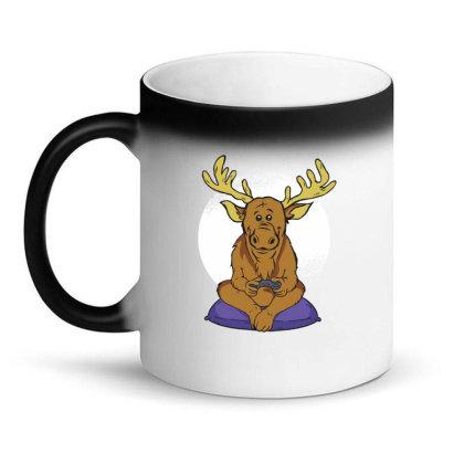 Elk Video Games Magic Mug Designed By Dirjaart