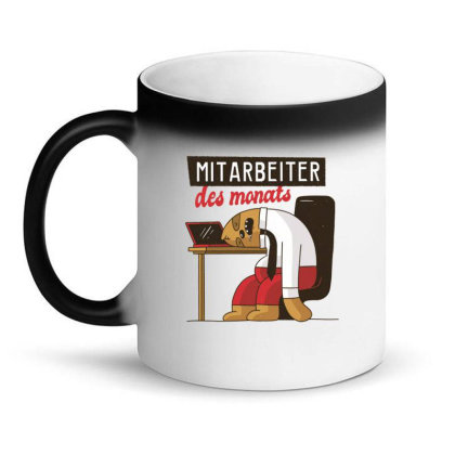 Employee Of The Month Magic Mug Designed By Dirjaart