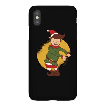 Elf Floss Dance Christmas Iphonex Case Designed By Dirjaart