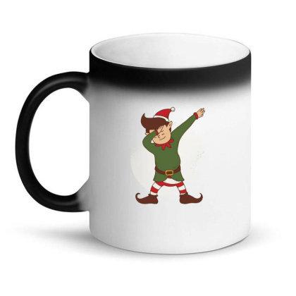 Elf Dabbing Christmas Magic Mug Designed By Dirjaart