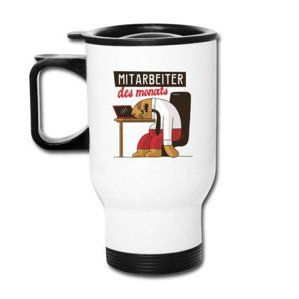 Employee Of The Month Travel Mug Designed By Dirjaart