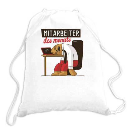 Employee Of The Month Drawstring Bags Designed By Dirjaart