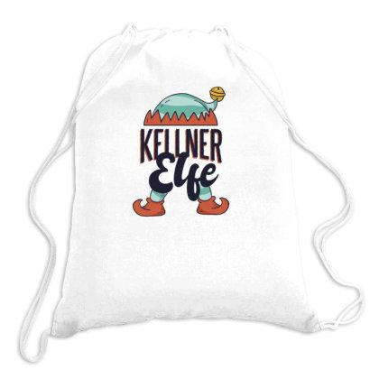 Elf Waiter Drawstring Bags Designed By Dirjaart