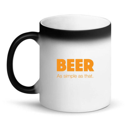 Beer As Simple As That Magic Mug Designed By H3lm1