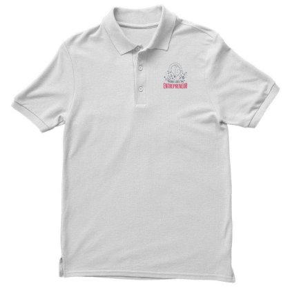 Entrepreneur Men's Polo Shirt Designed By Dirjaart